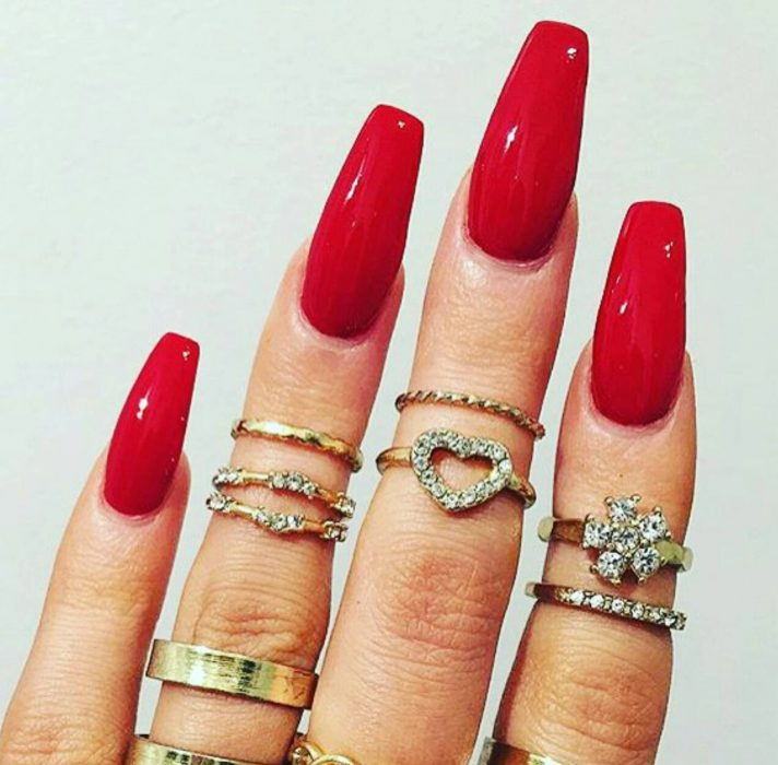 manicure unhas vermelhas personalidade apaixonada