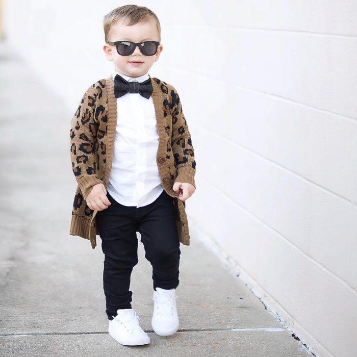 vestido de bebê elegante