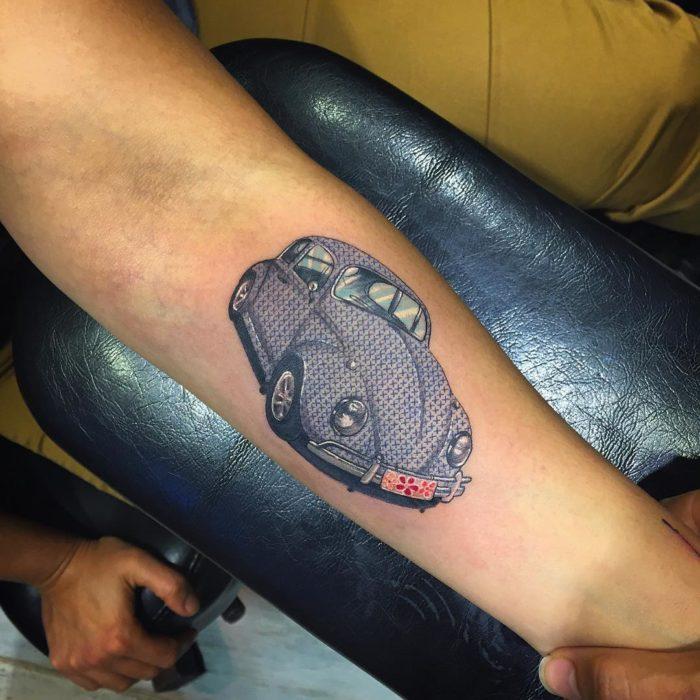 Tatuagens de ponto cruz