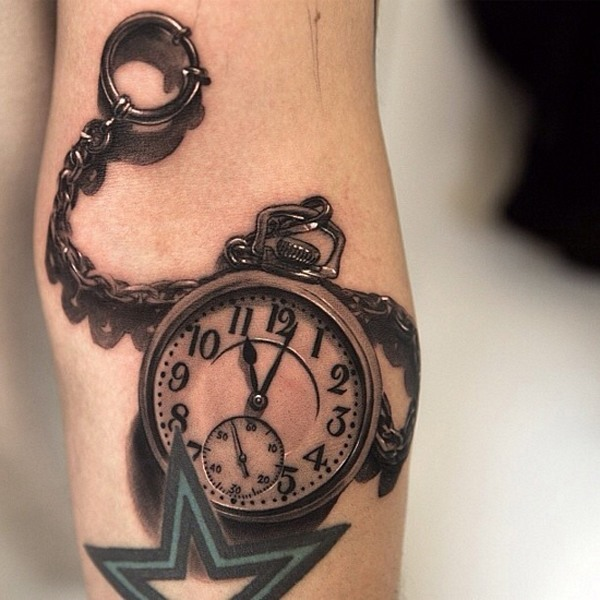 photos-of-tattoos-3d-watch-chain