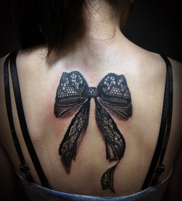 photos-of-tattoos-3d-bow-lace-back