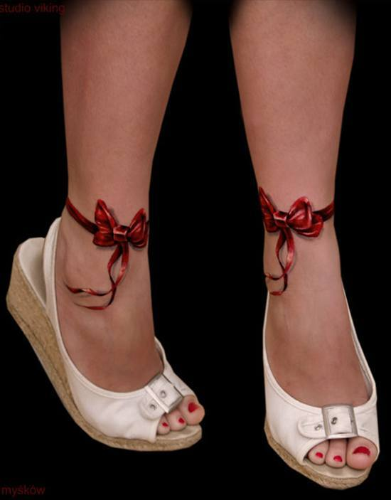 photos-of-tattoos-3d-tie-ankles