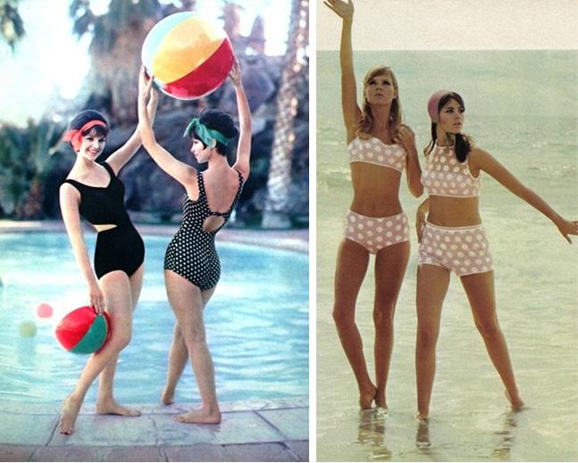 garotas de biquíni na praia