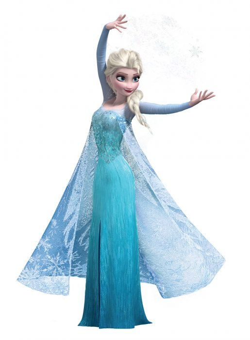 Elsa do filme Frozen