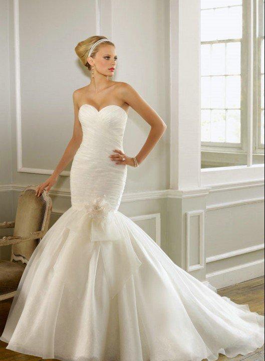 vestidos de noiva-sereia-corte-camadas-de-tule