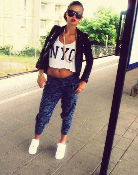 how-to-dress-swag-style-girls-TROUSERS-Joggers