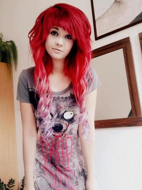 haircuts-and-hairstyles-emo-for-girls-2015-penteado-com-extensões
